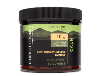 LEMON LIME HEMP EXTRACT-INFUSED DIETARY SUPPLEMENT GUMMIES