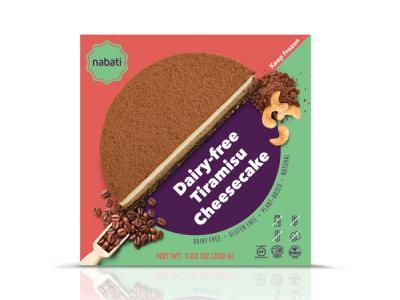 TIRAMISU DAIRY-FREE CHEESECAKE